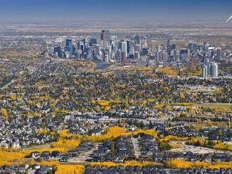Calgary Photo Aerial