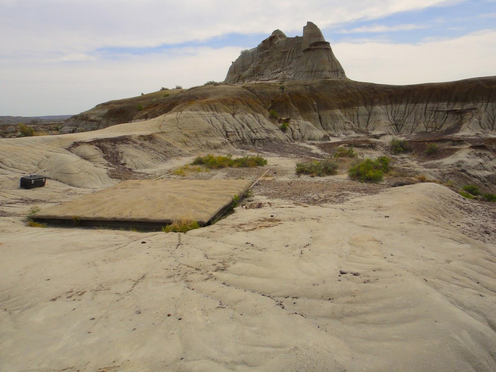 005 - Centrosaurus Quarry below the Citadel