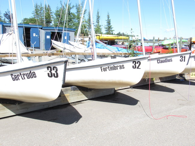 Can you name the play these boats were named after? Photo by Madison Bartlett.