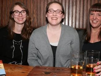 (L to R) Hannah Sanford, Heather Tovey and Jenn Fitzgerald