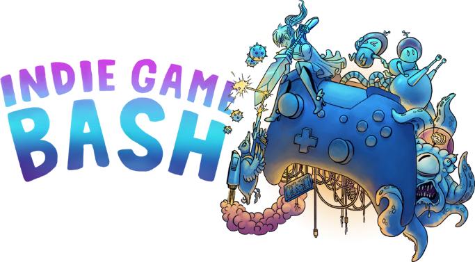 Indie Game Bash promotional image. Courtesy www.indiegamebash.com.