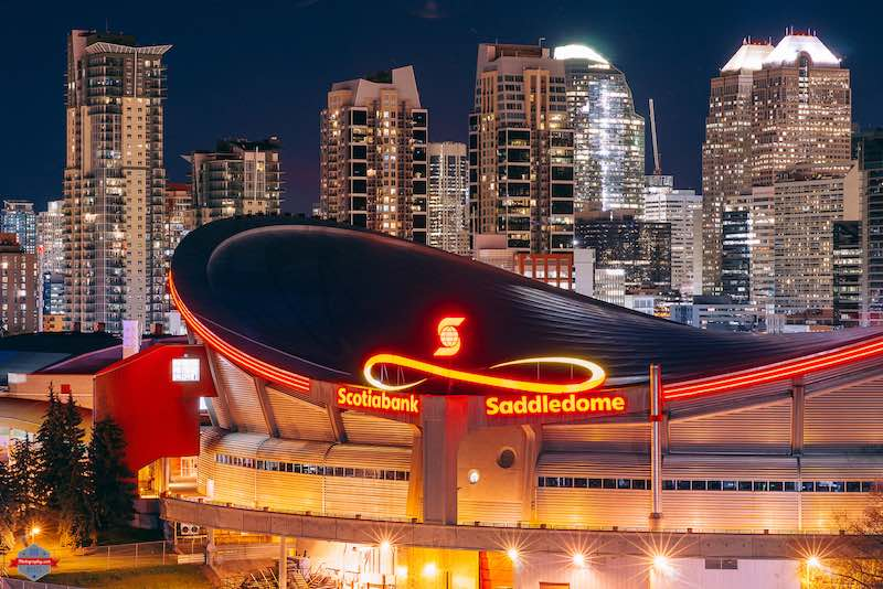 Saddledome by Rob Moses