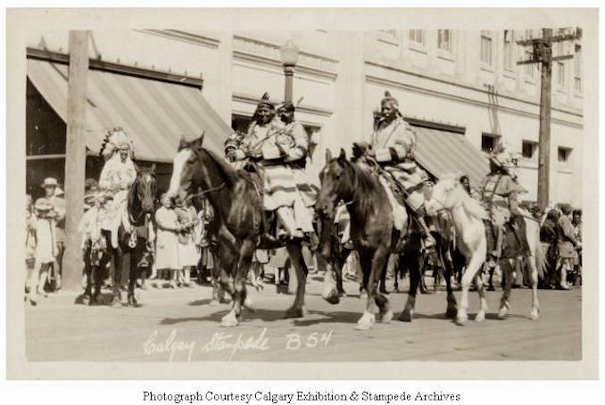 1930 - [Parade scene], Calgary Stampede