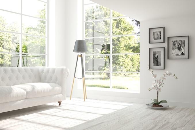 Whitewashed Wood Floors