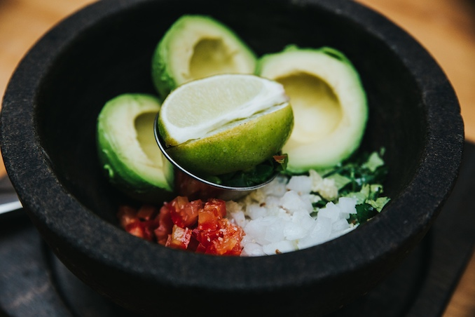 Anejo Mexican restaurant Tableside Guacamole recipe