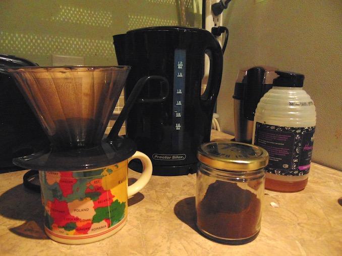 Tamara Cardinal - coffee in the mornings