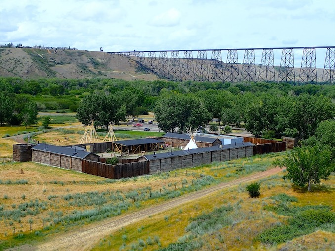 Southern Alberta's Historic Fort Whoop Up