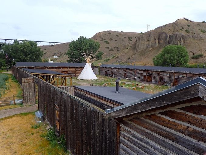 Southern Alberta's Historic Fort Whoop-Up