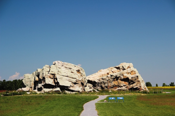 The Okotoks Erratic: The Rock That Ran