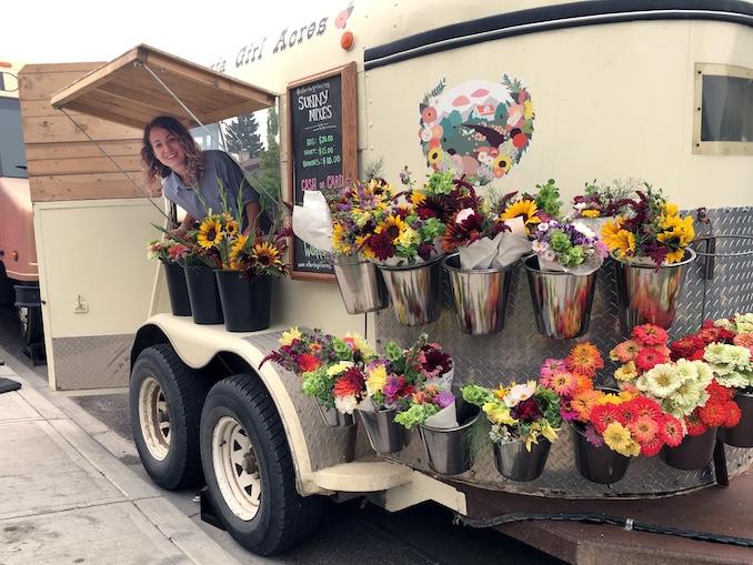 Sarah Adams Flowers Alberta Girl Acres