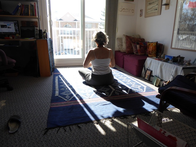 Barbara Bickel - Morning kundalini yoga at home in Bridgeland