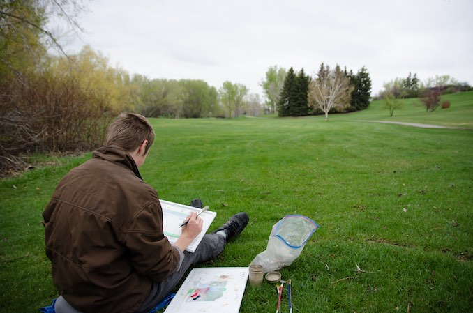"""""""A Day in the Life"""" with Calgary Artist Christian Frederiksen"""
