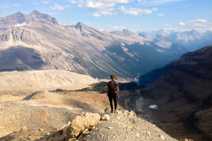 Obligatory hiking photo. This is in Yoho.