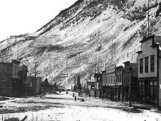 Historical Photos from Frank Slide in the Crowsnest Pass