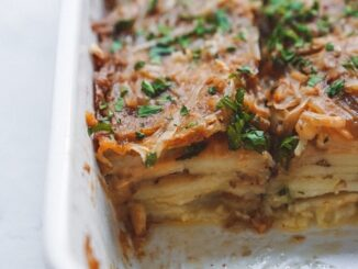 VEGAN POTATOES AU GRATIN