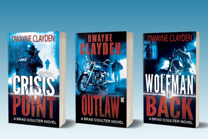 My Novels – Crisis Point, Outlaw MC, Wolfman is Back