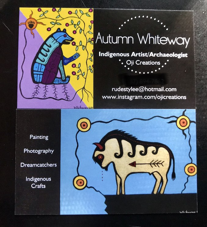 Autumn Whiteway- New business cards