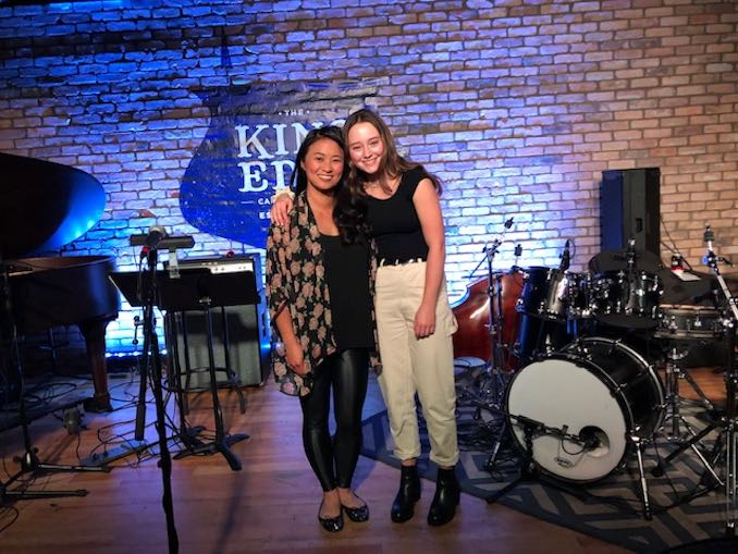 Singing alongside my student Greer Hunt at Theatre Calgary's new cabaret series Spotlight at the Eddy. Such a fun night!