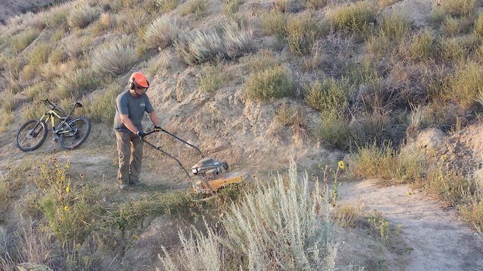 Trail Builder Blaine Fairbrother