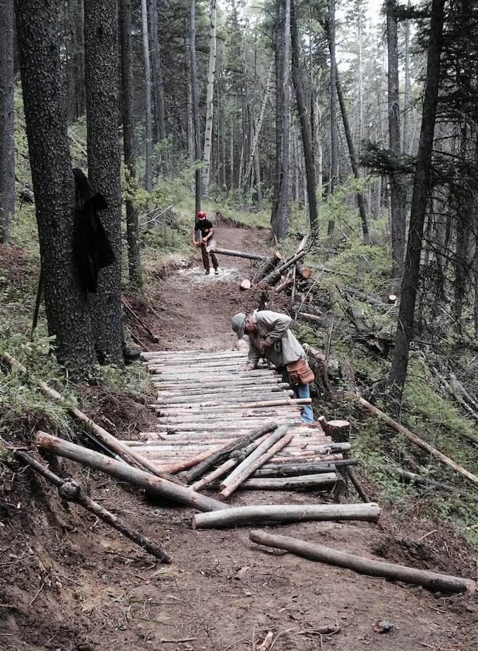 Trail Builder Blaine Fairbrother