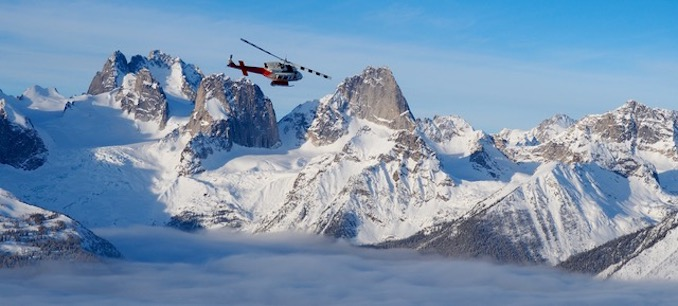 Come for the skiing and stay for the scenery! Photo Credit: Jeff MacPherson