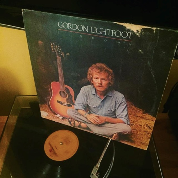 Music is also an important part of every day. Proving that I'm secretly a senior citizen, my favourite artist is Gordon Lightfoot.