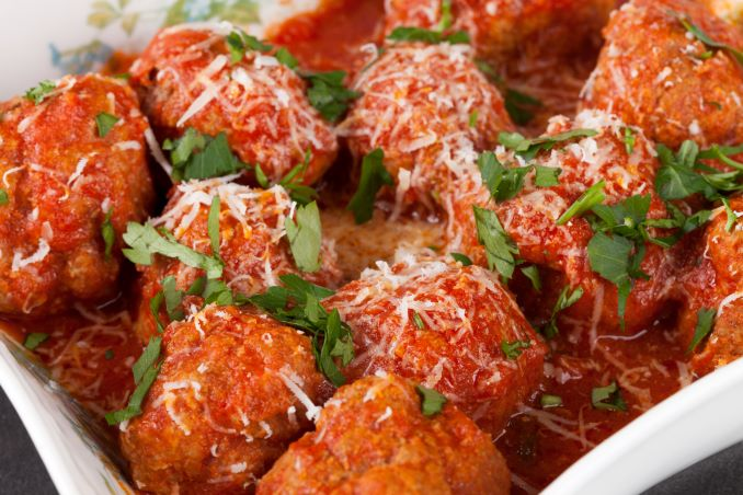 Veal Meatballs from Cibo