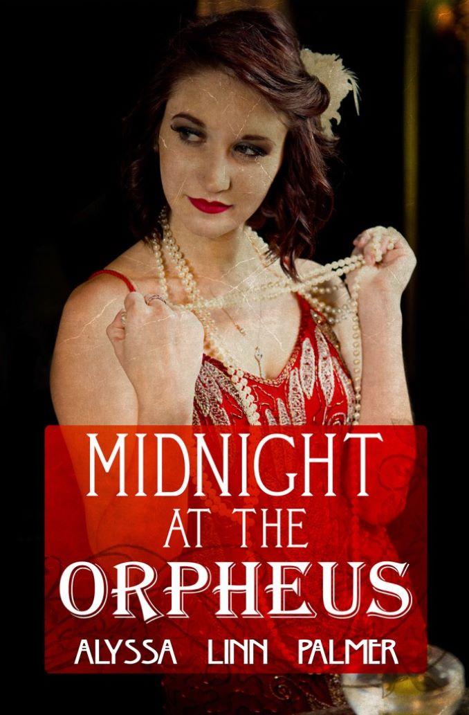 Cover from Alyssa Linn Palmer's award-winning noir novel, Midnight at the Orpheus, from Bold Strokes Books.