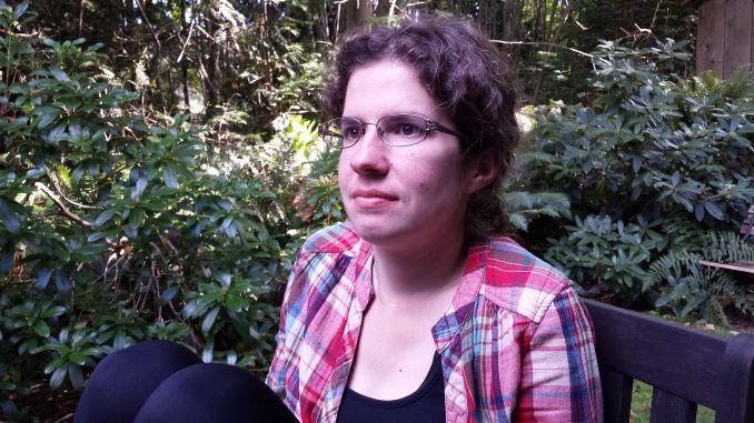 Portrait of the Alyssa Linn Palmer on Vancouver Island. (photo by Anthony Bennett)