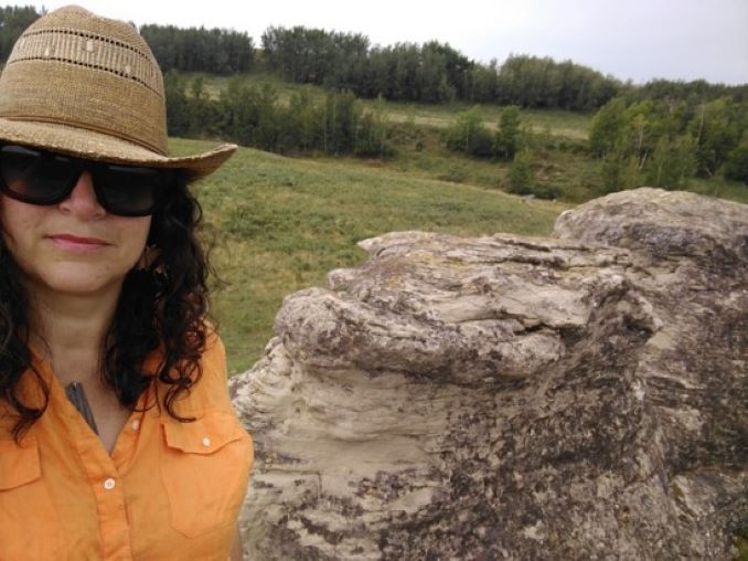 Karen I tell everyone I am a farm kid, because I am. I grew up on a dairy farm, west of Innisfail, Alberta.