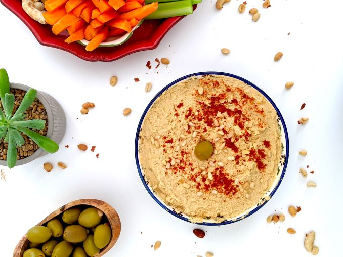 Peanut Butter Hummus Recipe by nude market