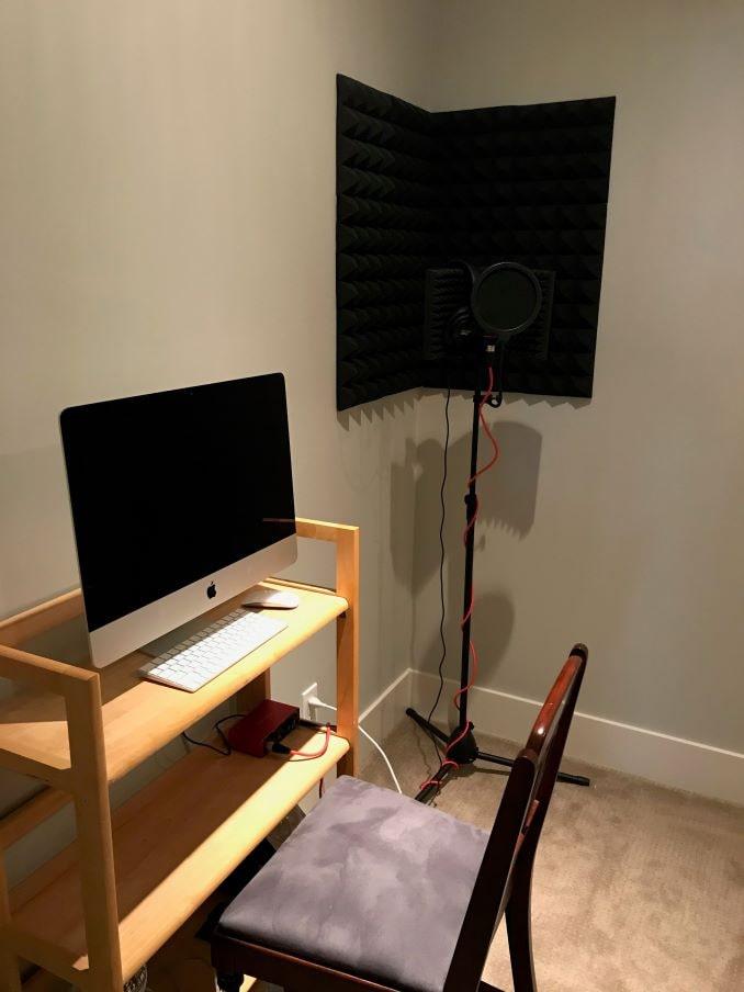 Anna Cummer Home studio