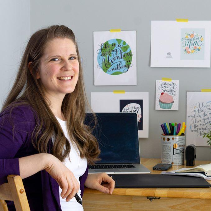 Emily Skinner of Pedaller Designs