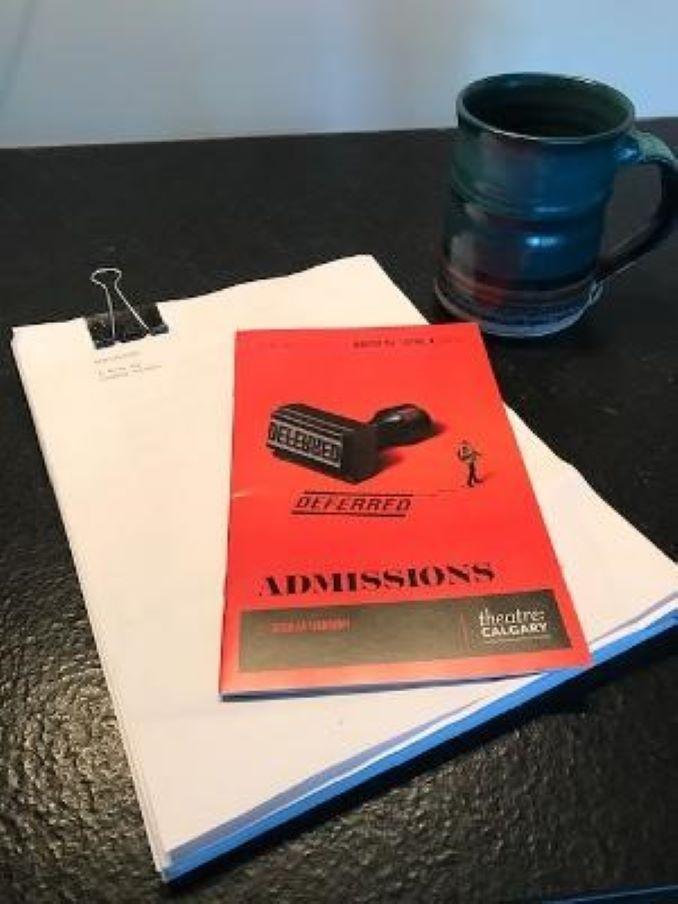 Admissions by Joshua Harmon Anna Cummer