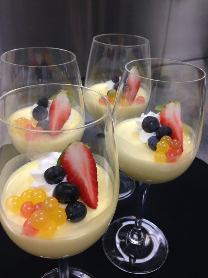 Panna Cotta with Saffron
