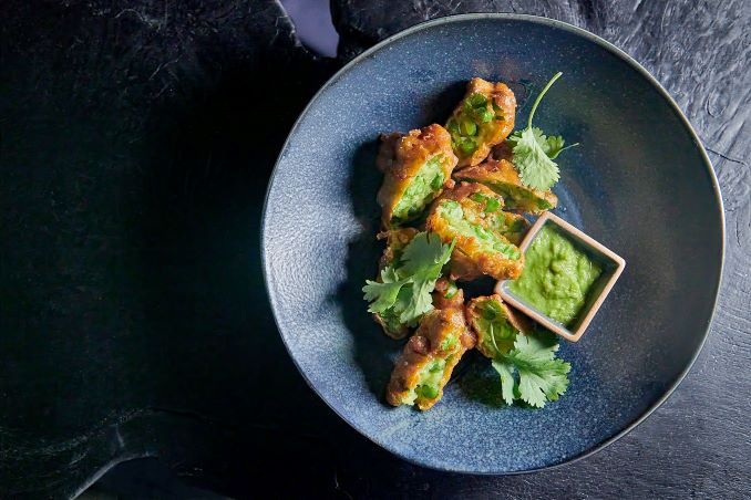 Green Curry Fritters from NUPO