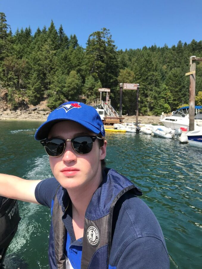 Adam Forward Boating in the Gulf Islands