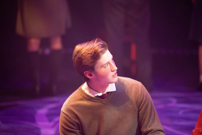 Adam Forward as Melchior Gabor in Spring Awakening