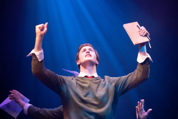 Adam Forward as Melchior Gabor performing Touch Me in Spring Awakening