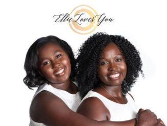 Evelyne Nyairo and her daughter and brand namesake, Ellie Bianca
