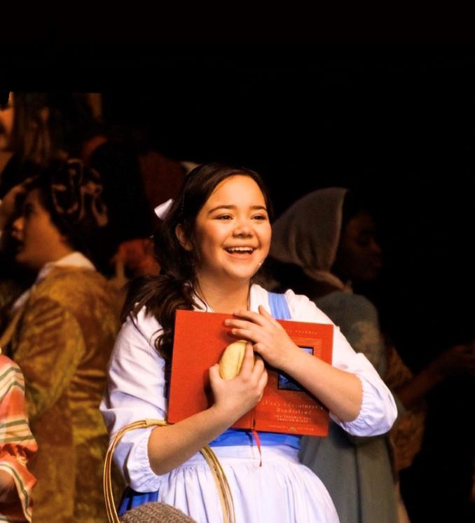 Jeanette I played Belle in my high school production of Beauty and The Beast. Belle's independent spirit taught me to always be strong!
