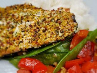 Oven Spice Salmon