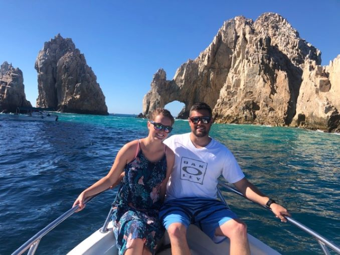 Janeen and Coleton on Vacation 2018