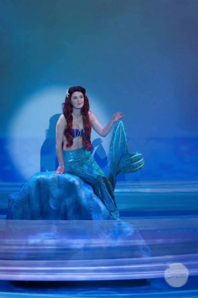 Janeen as Ariel in Storybook Theater's The Little Mermaid 2016