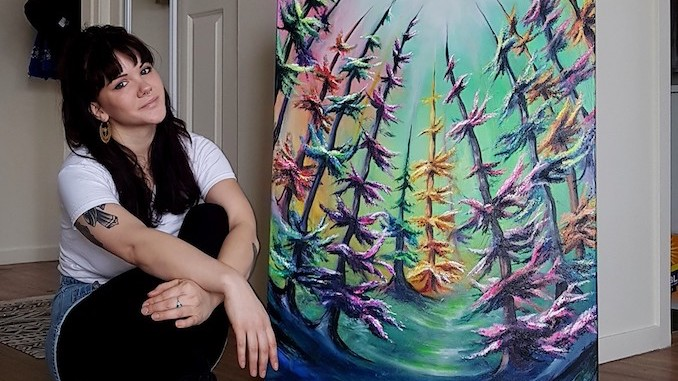 """""""A Day in the Life"""" with Calgary artist Ventura Jones"""