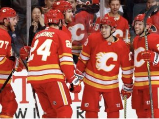 Calgary Flames by NHL is licensed under CC BY 3.0