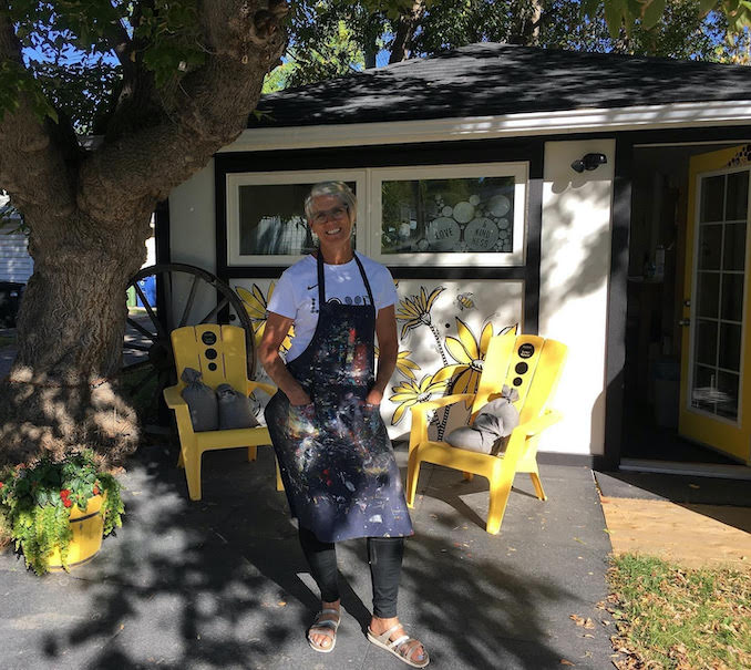 """""""A Day in the Life"""" with Local Artist Bonnie MacRae-Kilb"""