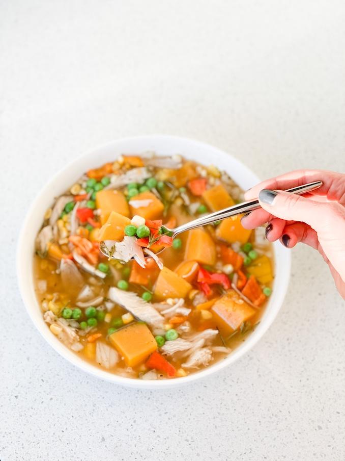 Turkey + Butternut Squash Stew