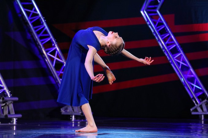I have always had a special place in my heart for the stage and the joy of performing. I compete regionally as well as nationally, travelling to compete with my team in both solo and group routines. Getting to share my art on stage excites me and motivates me in my year round training. This is a solo I'm currently competing, choreographed by Stacey Tookey.