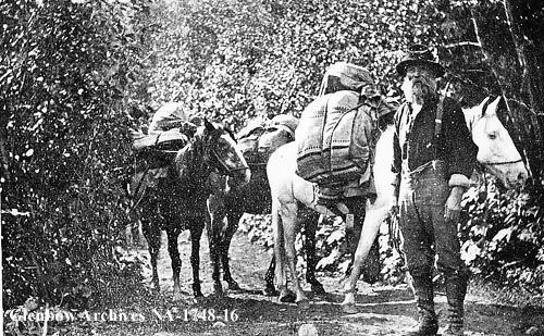 Historical Photos of Prospectors from Western Canada